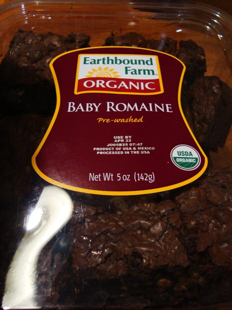 Organic Calorie-Free Brownies