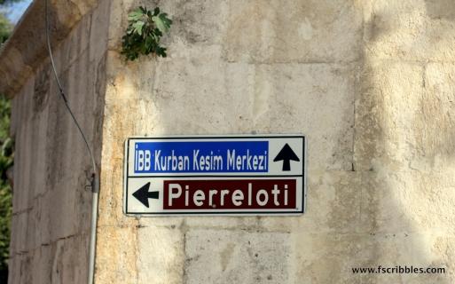 Pierre Loti sign