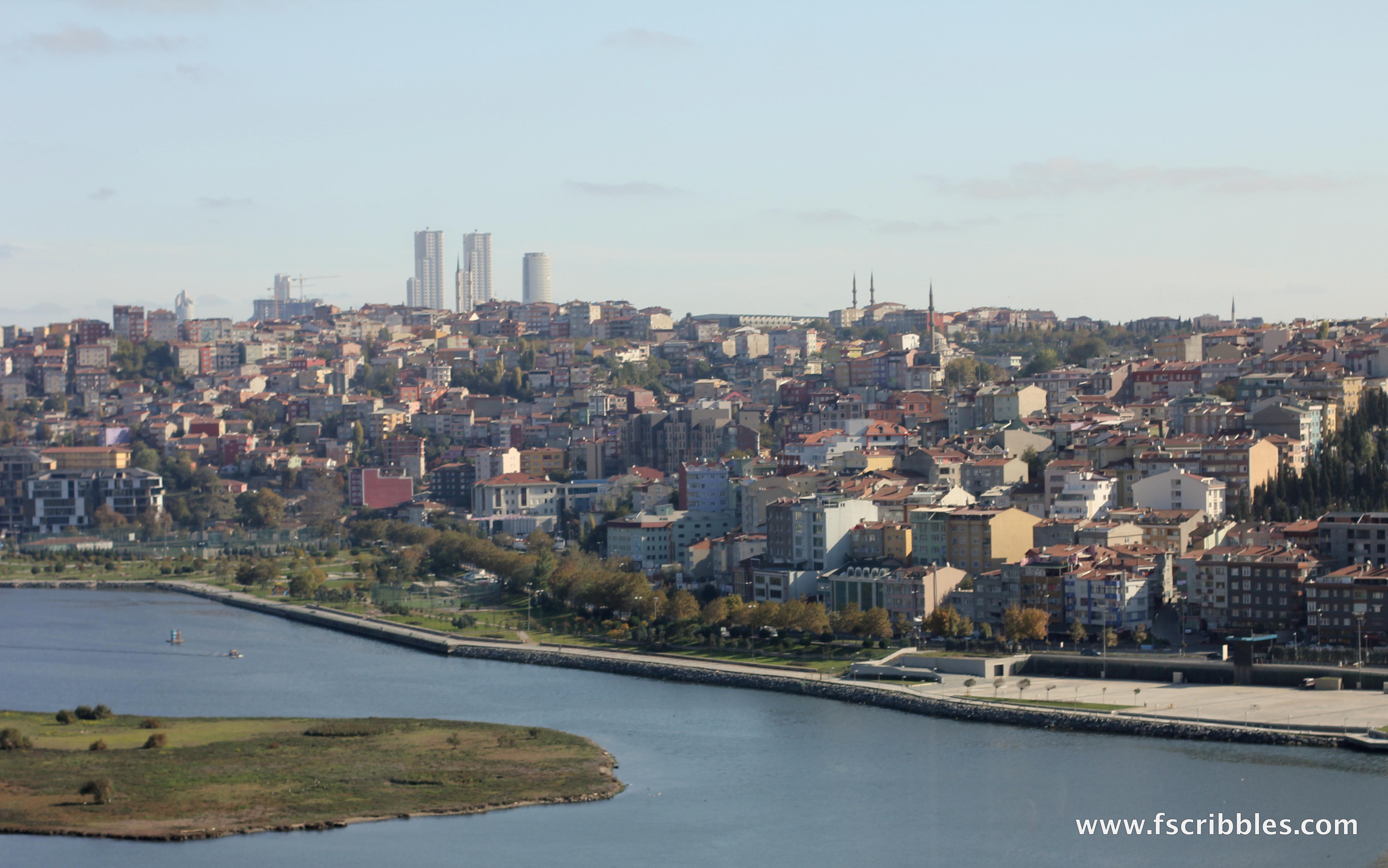 Istanbul Golden Horn views