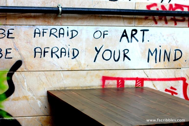 statement, graffiti