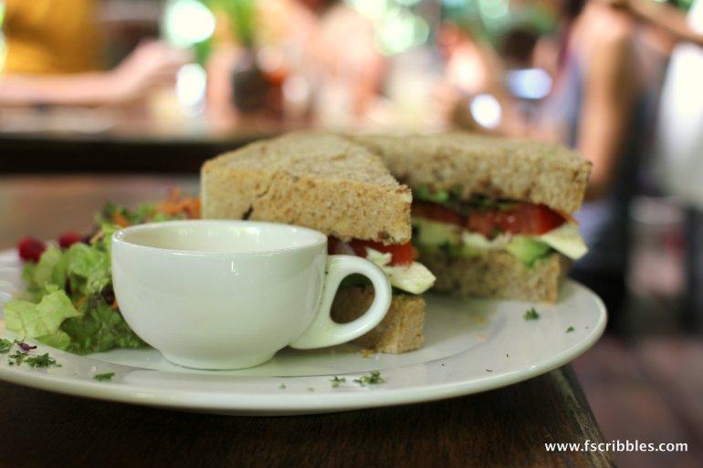 Pretty looking sandwich